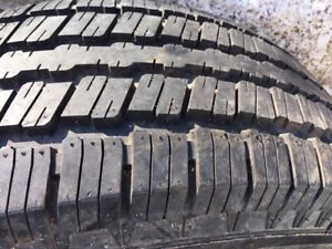 255 70 16 NEW GENERAL ALL SEASON TIRE FOR SALE