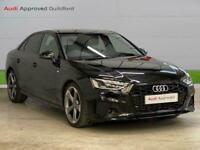 2021 Audi A4 35 Tfsi Black Edition 4Dr S Tronic Auto Saloon Petrol Automatic