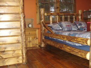 LOG FURNITURE FOR SALE