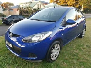 2008 Mazda 2 DE Neo Blue 4 Speed Automatic Hatchback Broadmeadow Newcastle Area Preview