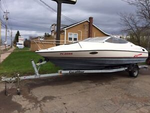 REDUCED SPEED BOAT 23 FT CUDDY 350 MERCRUISER