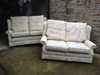 FREE: A pair of 2-seater comfy sofas both in excellent condition