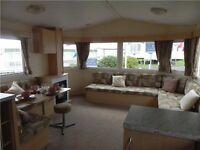 *static caravan for sale , 12 month park , north east coast ,crimdon dene holiday park
