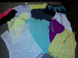 TOPS/BLOUSES/TEES/SHORTS SZ M/L $20 EACH