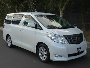2008 Toyota Alphard WELCAB Middle Electric lift White 5 Speed Tiptronic Wagon Taren Point Sutherland Area Preview