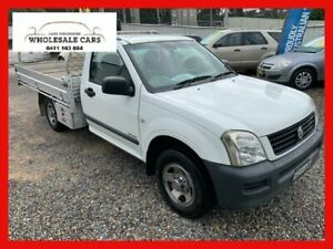 2003 Holden Rodeo RA LX White 5 Speed Manual Cab Chassis