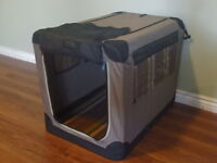 Portable Dog Crate - Collapses for easy travel
