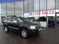 2007 56 JEEP GRAND CHEROKEE 3.0 V6 CRD OVERLAND 5D AUTO 215 BHP **** GUARANTEED FINANCE ****