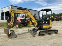 Excavatrice Mini Pelle Yanmar VIO35, Kubota, Johndeer Sherbrooke Québec Preview