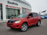 2010 Toyota RAV4 4WD with a V6 engine delivers safety, security