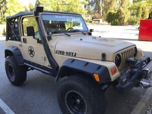 One of a kind 1998 Jeep TJ