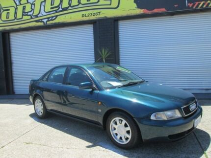 1998 Audi A4 1.8T Green 5 Speed Auto Activematic Sedan O'Connor Fremantle Area Preview