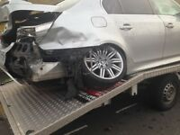 Instant taxi replacement in Liverpool after non fault accident