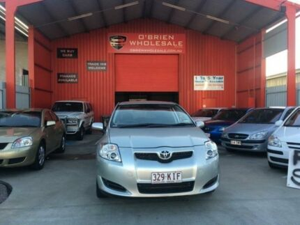 2007 Toyota Corolla ZRE152R Ascent Silver 6 Speed Manual Hatchback Clontarf Redcliffe Area Preview