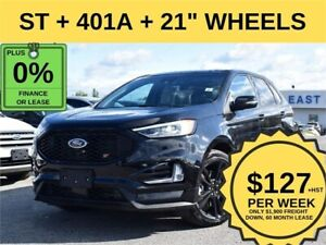 2019 Ford Edge ST AWD|WIRELESS CHARGING|401A|NAV|ROOF|ADP CRUISE