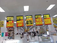 Sears closing sale