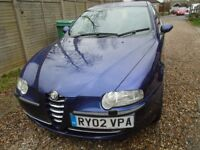 ALFA ROMEO 147 TWIN SPARK, 2002 MODEL FABULOUS CONDITION.