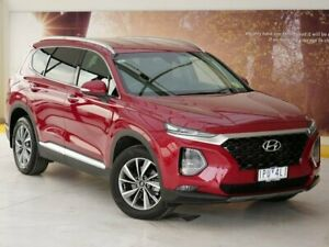 2018 Hyundai Santa Fe TM MY19 Elite Red 8 Speed Sports Automatic Wagon Collingwood Yarra Area Preview