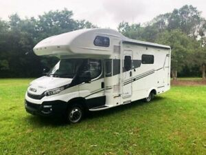 2021 IVECO DAILY 50-180 MOTORHOME Avida BUSSELTON C7544 SL White Motor Home Forest Glen Maroochydore Area Preview