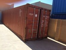 Shipping container forty 40 foot - perfect cond wind/water tight Balcatta Stirling Area Preview