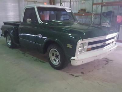1968 Chevrolet C-10 STEPSIDE 1968 CHEVROLET C-10 STEPSIDE 67184 Miles Green PICKUP/ TRUCK 6 Cyl Automatic