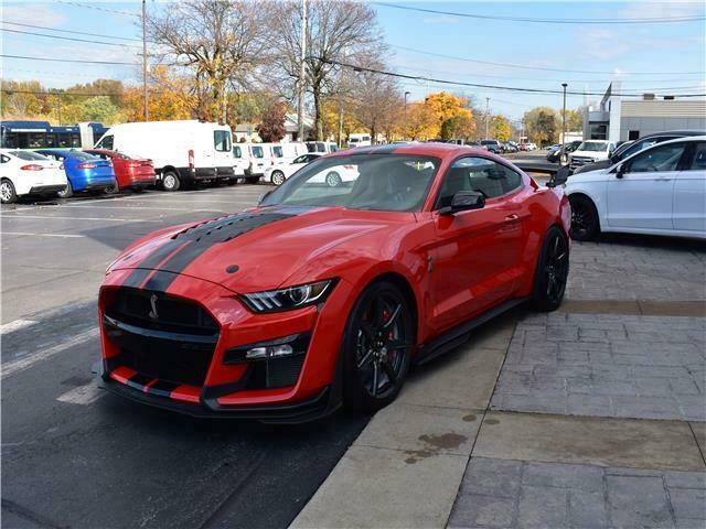 2020 Ford Shelby Gt500 Golden Ticket Race Red Carbon Fiber ...
