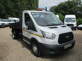 2014 Ford Transit SINGLE CAB TIPPER NO VAT 70000 MILES GUARANTEED