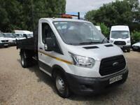 2014 Ford Transit SINGLE CAB TIPPER NO VAT 70000 MILES GUARANTEED