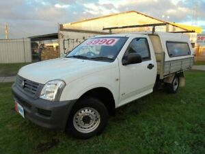 2004 Holden Rodeo RA DX 4x2 White 5 Speed Manual Cab Chassis Moorabbin Kingston Area Preview