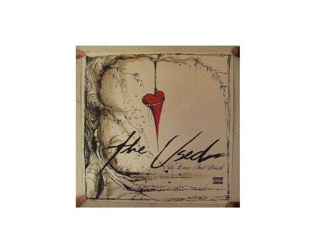 The Used Poster  In Love And Death  Two Sided