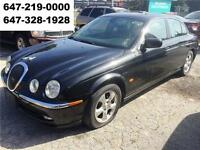 2001 Jaguar S-TYPE Leather Automatic All power Sunroof WARRANTY