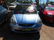 2004 Honda Jazz GD MY05 GLi Blue 1 Speed Constant Variable Hatchback Minchinbury Blacktown Area Preview