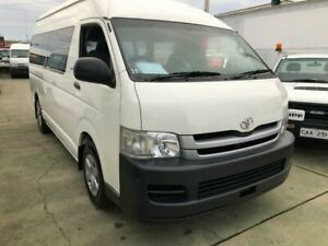 2009 Toyota HiAce TRH221R MY07 Upgrade SLWB White 4 Speed Automatic Van Granville Parramatta Area Preview