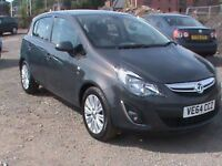 VAUXHALL CORSA 1.4 SE 5 DR GREY,FSH,1 YRS MOT,CLICK ON VIDEO LINK TO SEE AND HEAR MORE DETAILS OF IT
