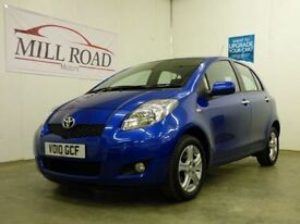 TOYOTA YARIS 1.0 TR VVT-I 5d 68 BHP ***YOUTUBE VIDEO OF THIS CA (blue) 2010