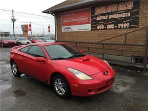 2002 Toyota Celica GT***5 SPEED***SUNROOF***GREAT CONDITION