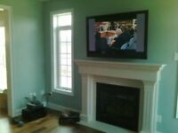 TV wall mount Installation (Same day service Edmonton and Area)