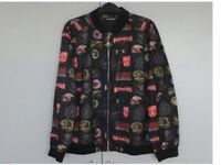 AIR FORCE PLEIN GENTS BOMBER JACKET. NEVER WORN. ONLY TRIED ON