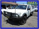 2005 Holden Rodeo RA LX White 5 Speed Manual Cab Chassis Penrith Penrith Area image 2