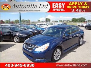 2011 SUBARU LEGACY SPORT AWD SUNROOF HEATED SEATS