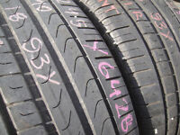245/40/18 Pirelli Cinturato P7, Audi x2 A Pair, 5.5mm (168 High Road, Romford, RM6 6LU) Used Tyres