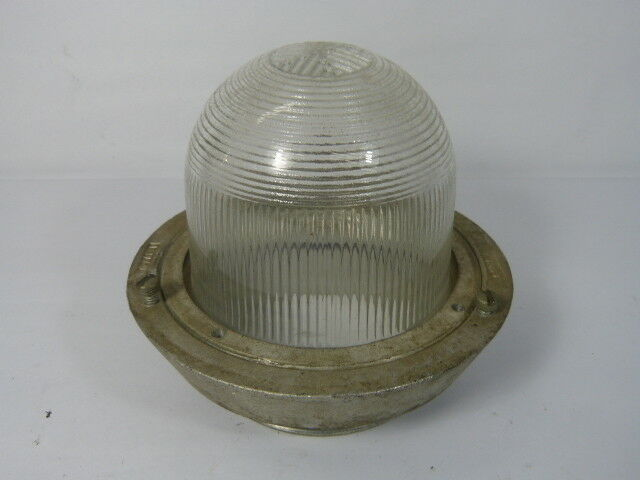 Crouse-Hinds 12277-D Explosion-Proof Globe Fixture  USED