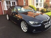 2009 BMW 330D M Sport Coupe - Full service history - Cream leather interior - SATNAV