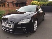 Audi TTS 2.0 TFSI Quattro Auto in Black with Black leather interior