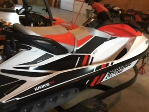 2013 Sea Doo 155 Wake