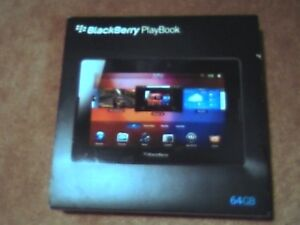Blackberry 7 in Tablet play book in box with charger rarely used