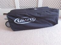 Graco Pack n Play Travel Cot 2 Level Canopy Music Vibration Light Carry Bag Play Pen