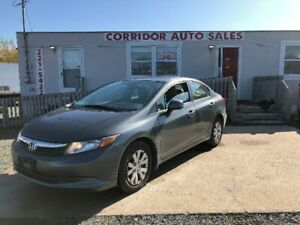 2012 HONDA CIVIC LX (FINANCING AVAILABLE!)