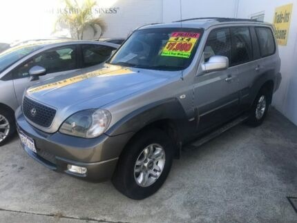 2007 Hyundai Terracan HP MY07 SLX Silver 4 Speed Automatic Wagon Welshpool Canning Area Preview