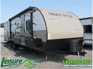 2016 Forest River Cherokee Grey Wolf 29DSFB Travel Trailer Windsor Region Ontario image 1